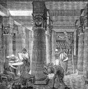 Back in its heyday, the Library of Alexandria was a dynamic and innovative hub of Mediterranean civilization.