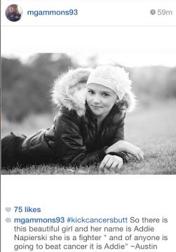 Addie Napierski, from Madelyn Gammons' Instagram