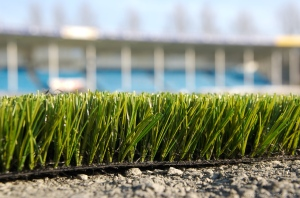 Artificial turf, Alfheim stadium, Tromsø, Norway. Photo: Guttorm Raknes, 2006-07-16