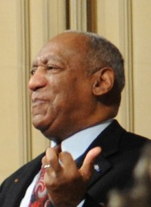 Bill Cosby speaking at a memorial service in February 2010. (Wikimedia)