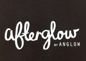 Afterglow's business card and logo.