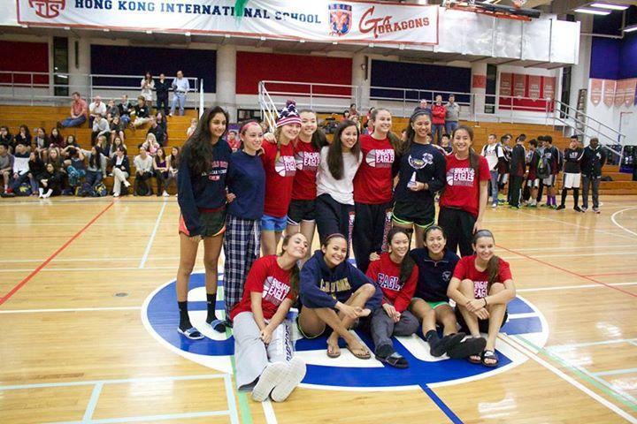 The SAS Eagles Varsity Basketball Girls Team. Photo by Robin Smith.