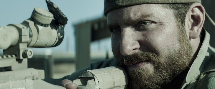 Bradley Cooper plays Chris Kyle in this thriller