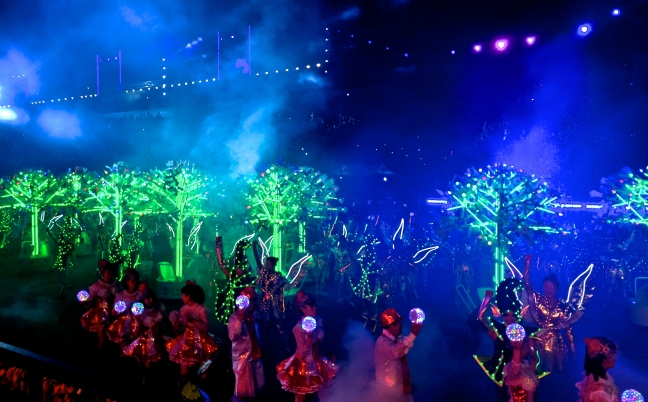 Chingay Finale: Trees of Hopes and Dreams
