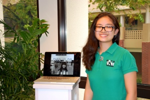 Jamie Uy, '17, is the managing editor of the online magazine Parallel Ink.