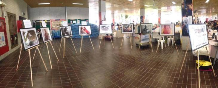 A photo collection from the exhibit - credits to Juan Granados