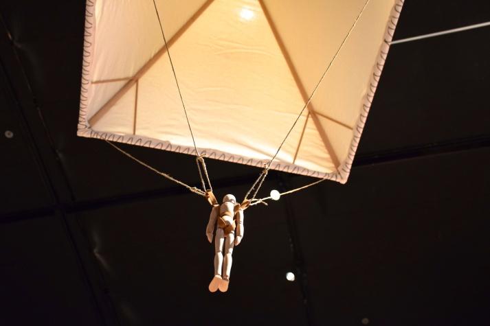 Da Vinci's first attempted  flight machine. Photo by Anna Sorokina
