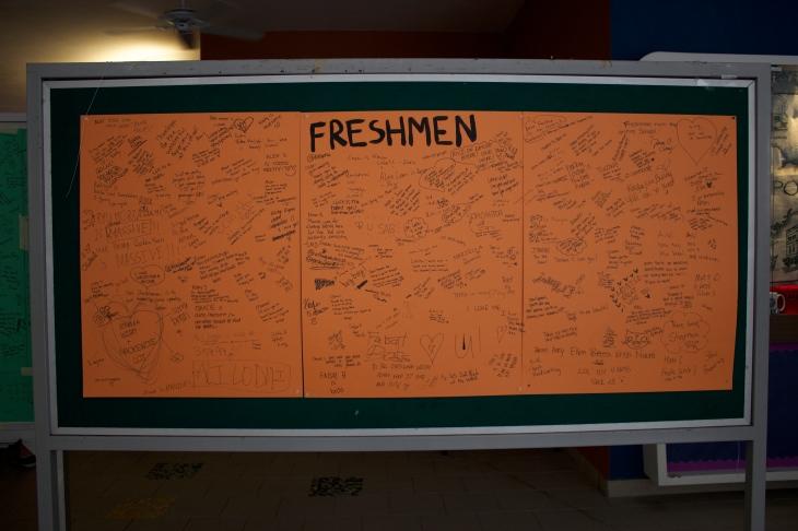 Freshman board