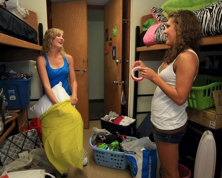 Before you settle down, make sure you are comfortable communicating with your roommate. Photo courtesy of Creative Commons.