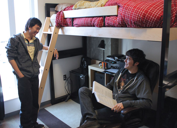 Don't expect to be best friends with your college roommate. Photo courtesy of Creative Commons.