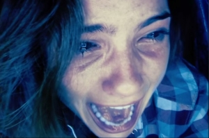 The movie centers around the computer screen of Blaire Lily, the girl pictured above.