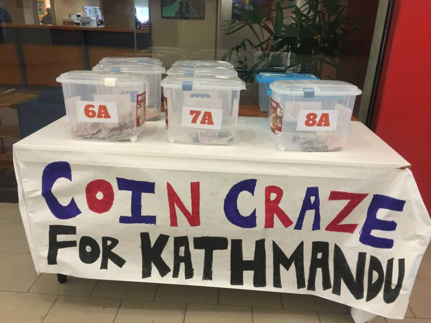 Middle school Coin Craze raised $23,917.