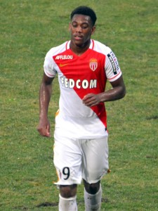Anthony Martial in his former club A.S. Monaco Creative Commons License