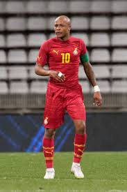 Andre Ayew is the captain of the Ghana national team Creative Commons License