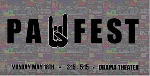 Advertisement for PAUFEST - taken from IPAU Promo