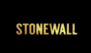 Shot of end of stonewall trailer.
