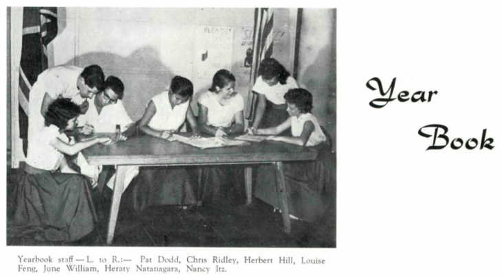 Yearbook Club, 1958