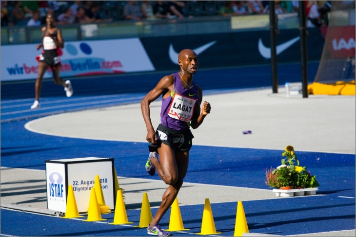 Bernard Lagat at 2010 Berlin ISTAF (Photo courtesy of Creative Commons)