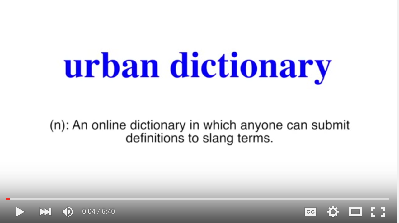 "Are your urban dictionary skills ""trill""? – THE EYE"