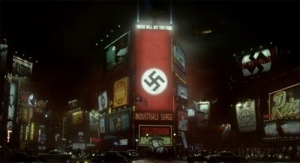 Times Square in the world of The Man in teh High Castle - Amazon Studios
