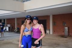 SAS IASAS senior swimmers Molly Clark and