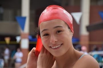 SAS Junior swimmer Hadley Ackerman. Photo by Rosie Hogan