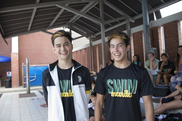 Henry Brooke (left) and Dias Konysbayev (right). Photo by Sheyna Cruz.