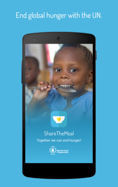 Courtesy of ShareTheMeal app at Google Play