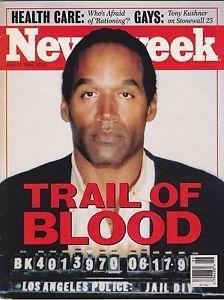 """Cover on Newsweek """"TRAIL OF BLOOD"""" - Newsweek"""