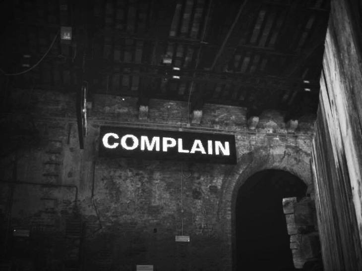 Is complaining in our nature, or is it a choice? Photo from creative commons but edited by Rosie Hogan.