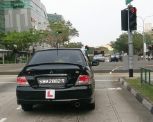L_plate_in_Singapore