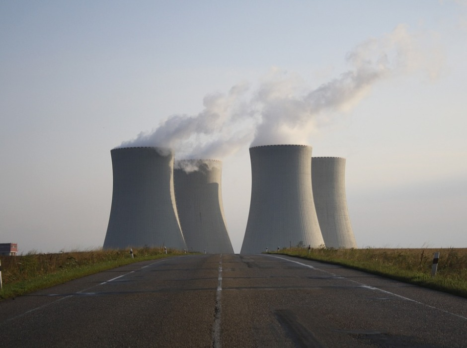 Nuclear power plants currently supply 20% of the electricity in the U.S. Creative Commons license