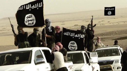 """The so called """"Islamic State"""" fighters - Creative Commons License"""