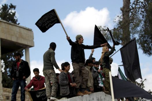 Al-Nusra fighters in Syria - Creative Commons License