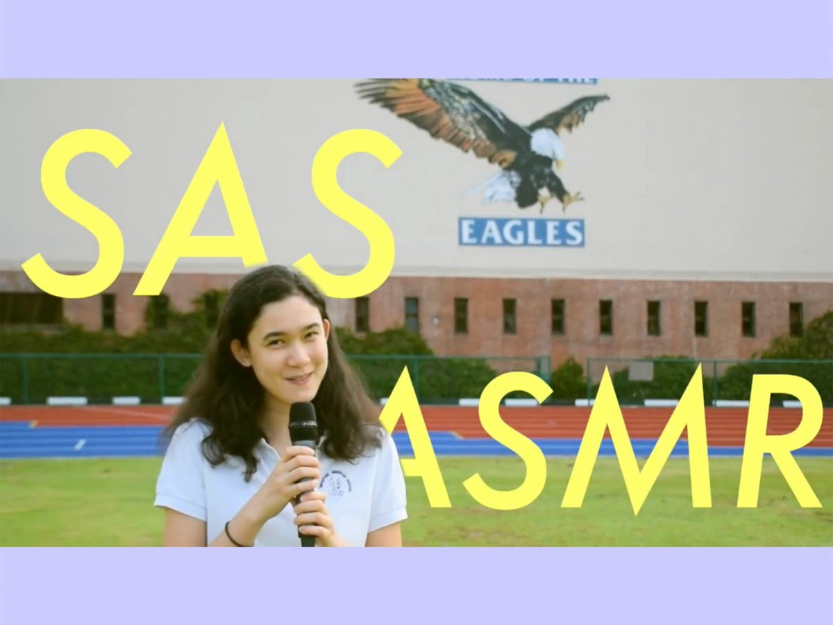 SAS students and teachers try ASMR