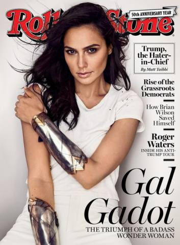Gal Gadot for Rolling Stone