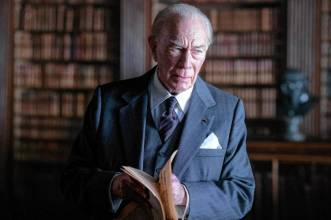 Christopher Plummer is J. Paul Getty in All The Money In The World