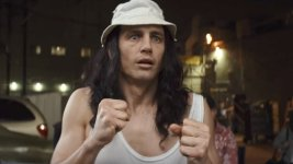 James Franco is Tommy Wiseau in The Disaster Artist