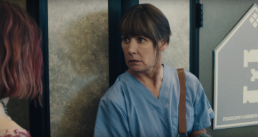 Laurie Metcalf is Marion McPherson in Lady Bird
