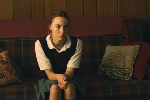 "Saoirse Ronan is Christine ""Lady Bird"" McPherson in Lady Bird"