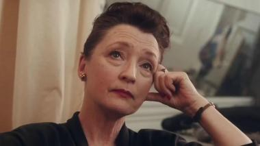 Lesley Manville is Cyril Woodcock in Phantom Thread