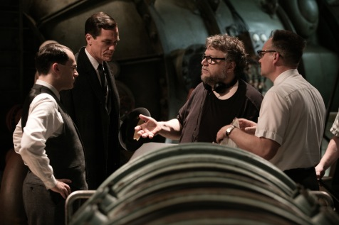 Guillermo del Toro directs Michael Shannon in The Shape of Water