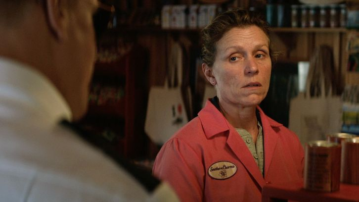 Frances McDormand is Mildred Hayes in Three Billboards outside Ebbing, Missouri