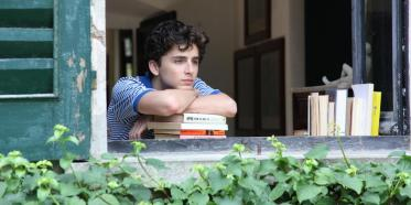 Timothée Chalamet is Elio Perlman in Call Me By Your Name
