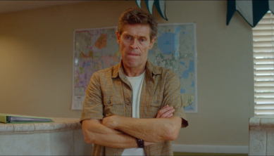 Willem Dafoe is Bobby in The Florida Project
