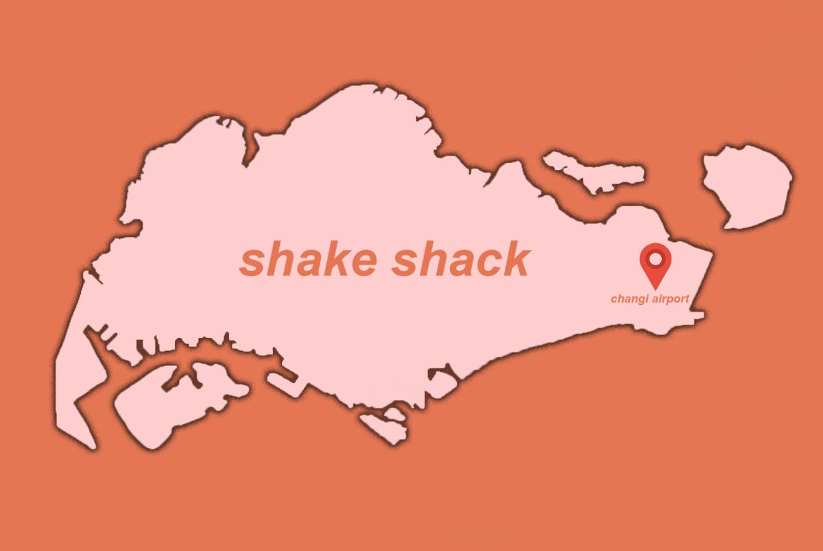 Shake Shack in Changi